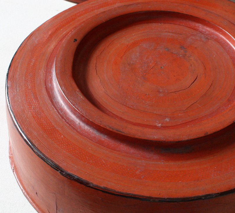 Antique Burmese Lacquerware BLW11M6