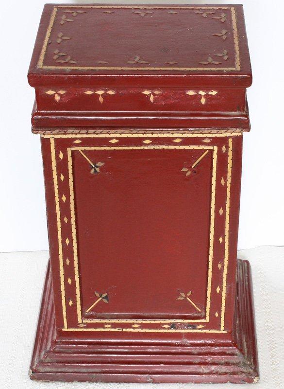 Antique Burmese Lacquerware BLW13M4