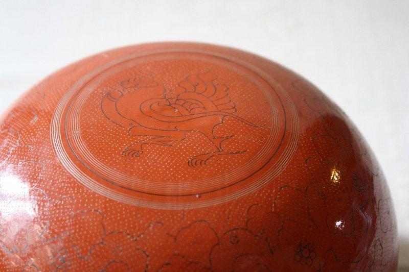 Antique Burmese Lacquerware BLW24M4