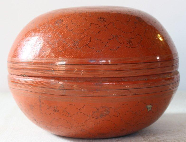 Antique Burmese Lacquerware BLW22M5