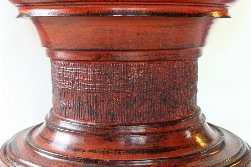 Antique Burmese Lacquerware BLW24M3