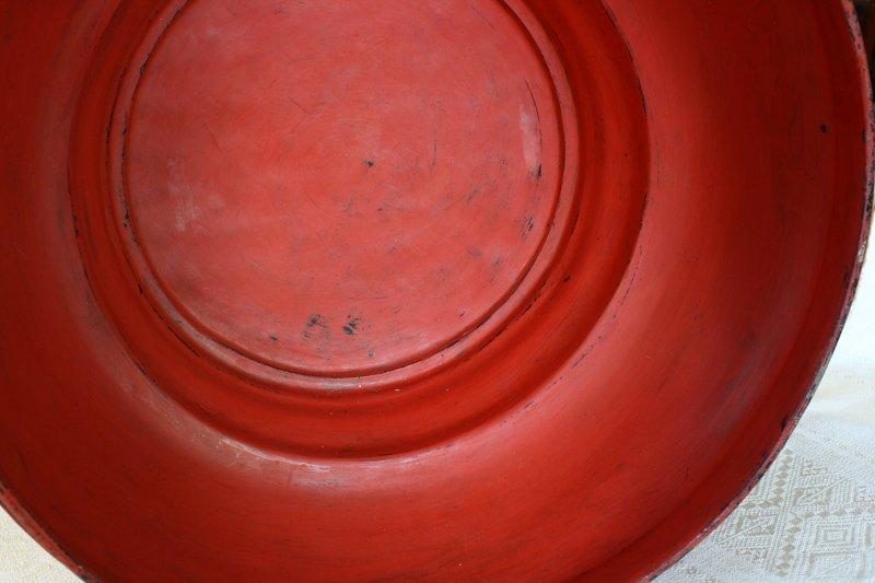 Antique Burmese lacquerware BLW32M3