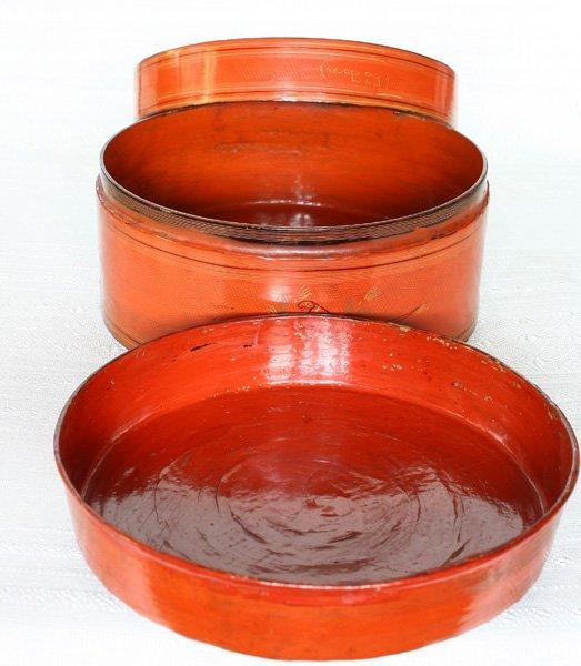 Antique Burmese Lacquerware BLW33M5
