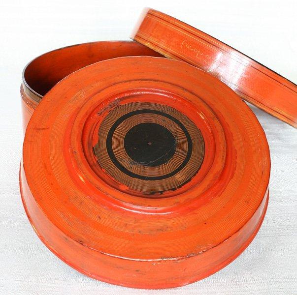 Antique Burmese Lacquerware BLW33M6