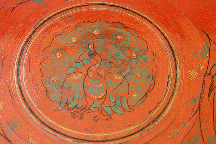 Antique Burmese Lacquerware BLW33M7