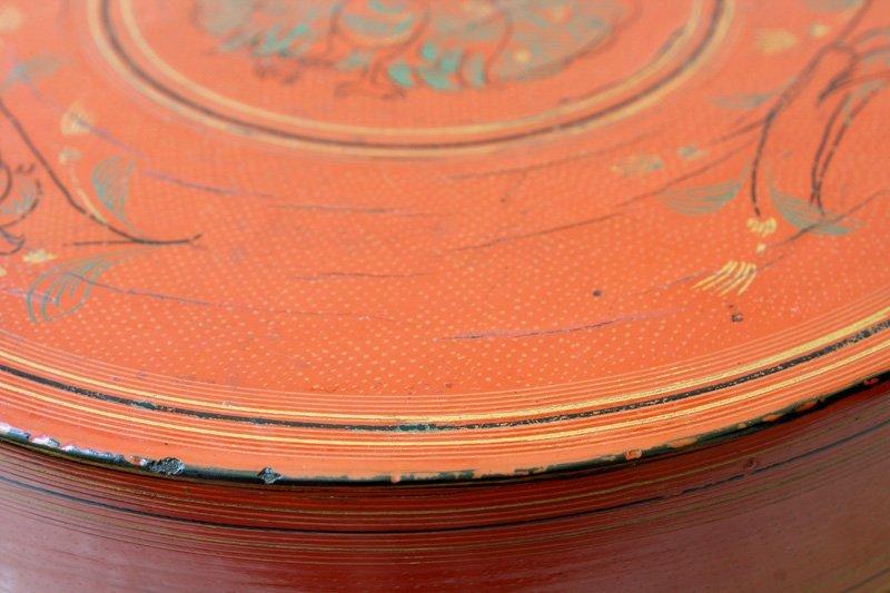 Antique Burmese Lacquerware BLW33M8