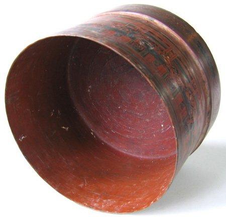 Antique Burmese Lacquerware EUO23M8