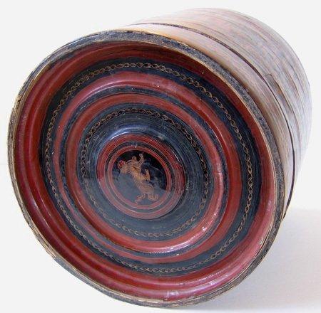 Antique Burmese Lacquerware EUO23M9
