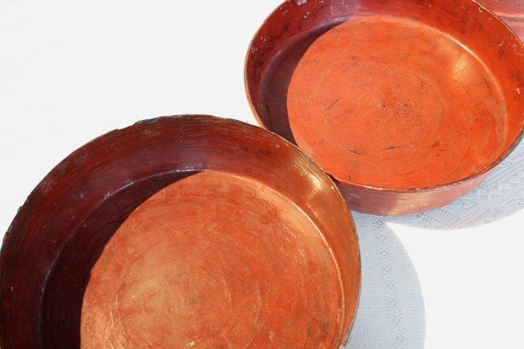 Antique Burmese Lacquerware EUO23M4