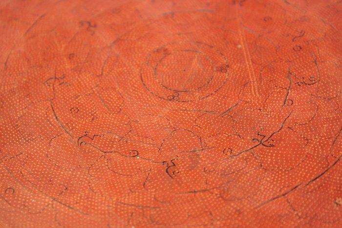 Antique Burmese Lacquerware EUO32M5