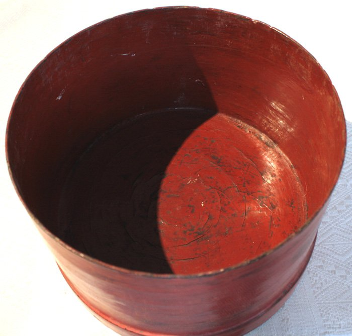 Antique Burmese Lacquerware EUO32M7