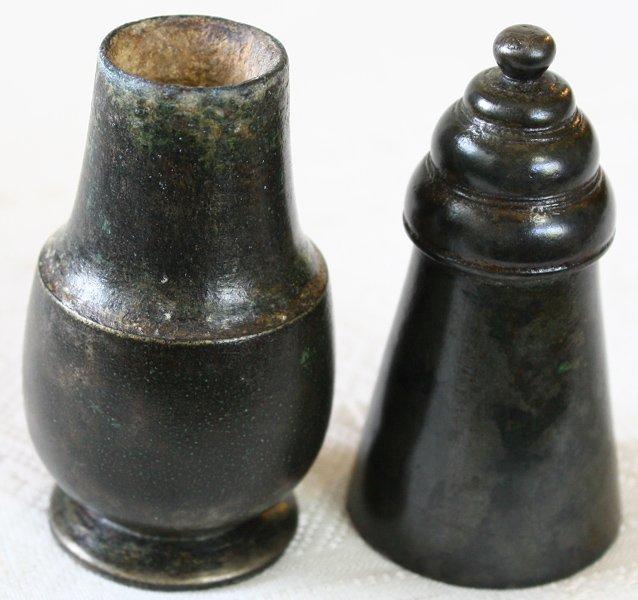 Ancient bronze artifact pot handle from Vietnam EUO85M