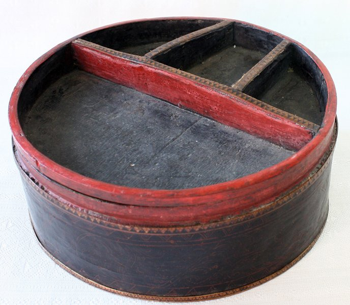 Antique Cambodian Lacquerware EUO95M