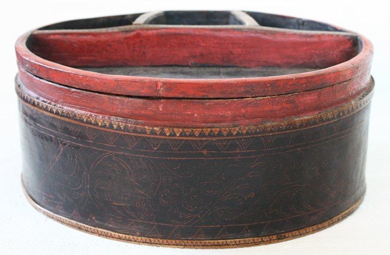 Antique Cambodian Lacquerware EUO95M2