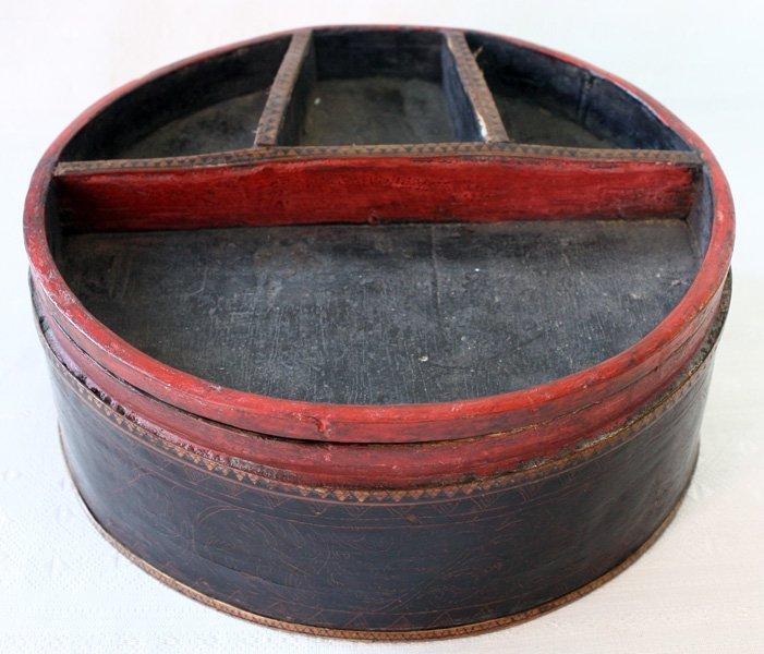 Antique Cambodian Lacquerware EUO95M4
