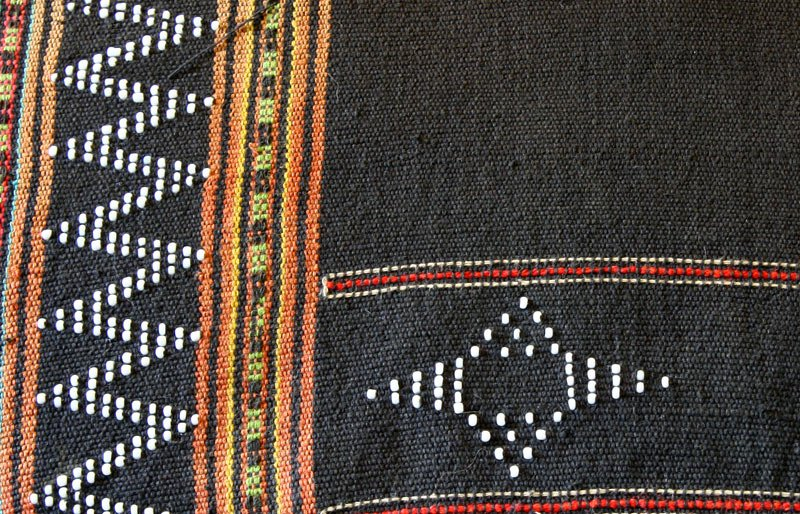 Vintage Katu Tribal Textile Vietnam TTA23M3