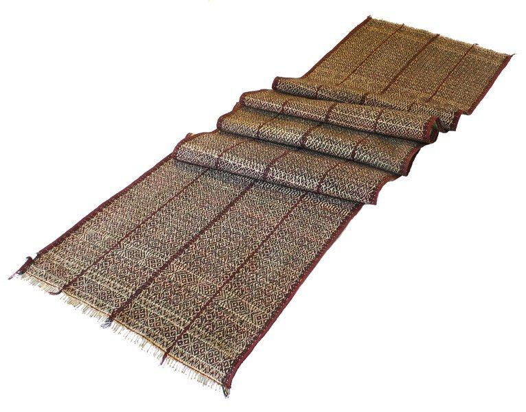 vintage Chin tribal textile runner TTC09_M