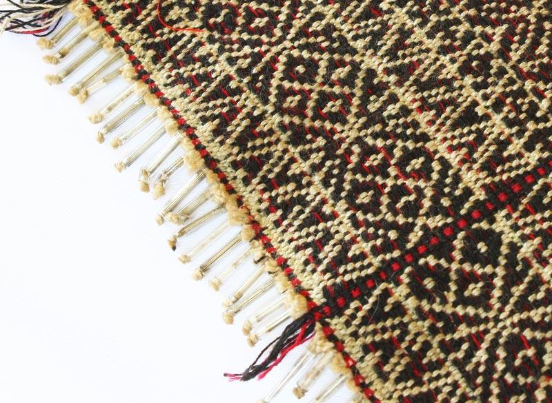 vintage Chin tribal textile runner TTC09_M3