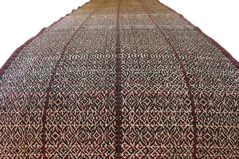 vintage Chin tribal textile runner TTC09_M5