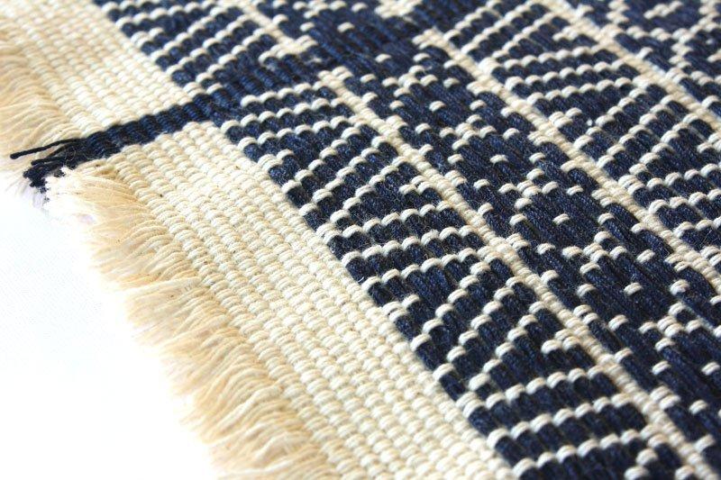 Chin tribal textile runner TTC10M2
