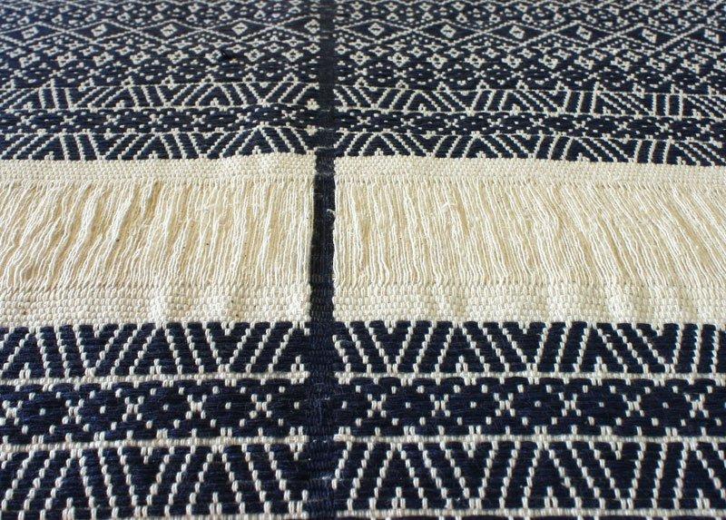 Chin tribal textile runner TTC10M3