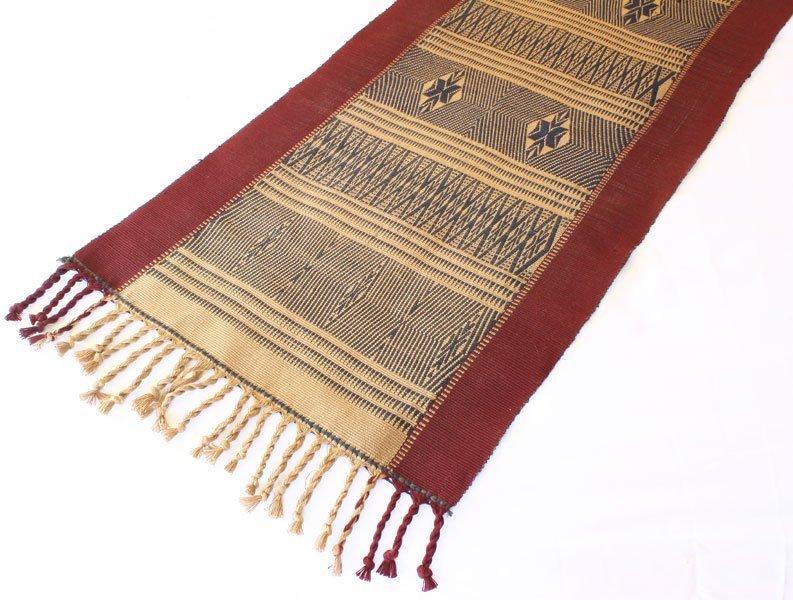Chin tribal textile runner TTC13M