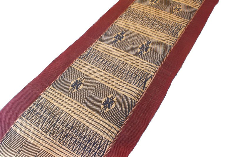 Chin tribal textile runner TTC13M87