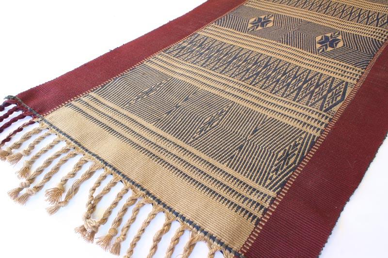 Chin tribal textile runner TTC13M3