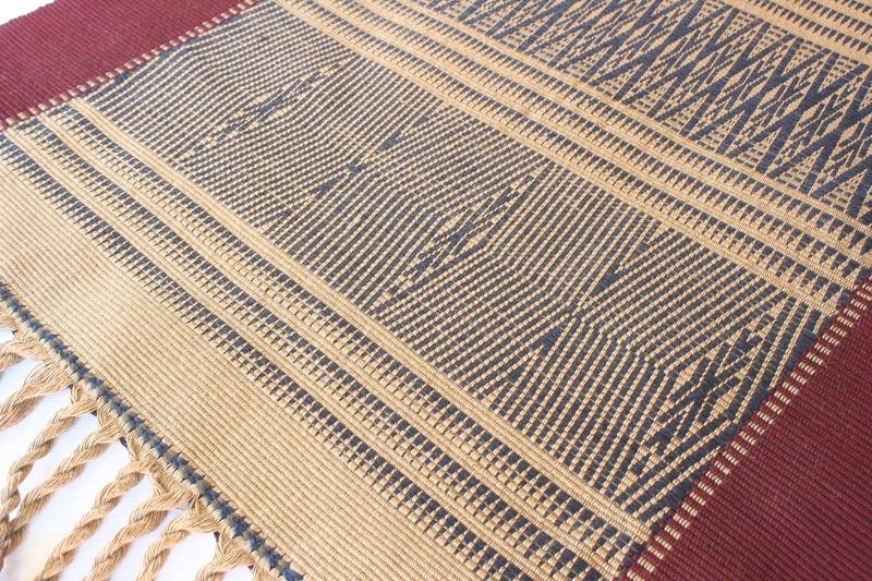 Chin tribal textile runner TTC13M5