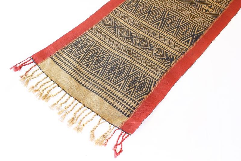 Chin tribal textile runner TTC15M