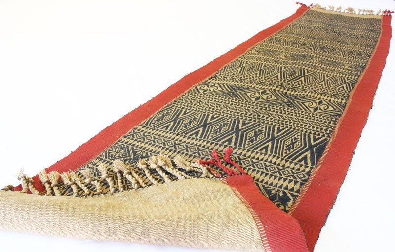 Chin tribal textile runner TTC15M2