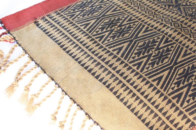 Chin tribal textile runner TTC15M3