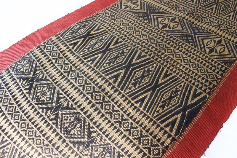 Chin tribal textile runner TTC15M5