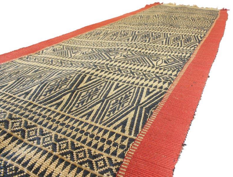 Chin tribal textile runner TTC15M6