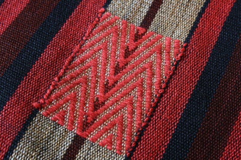 Naga textile runner from Nagaland TTN49M2