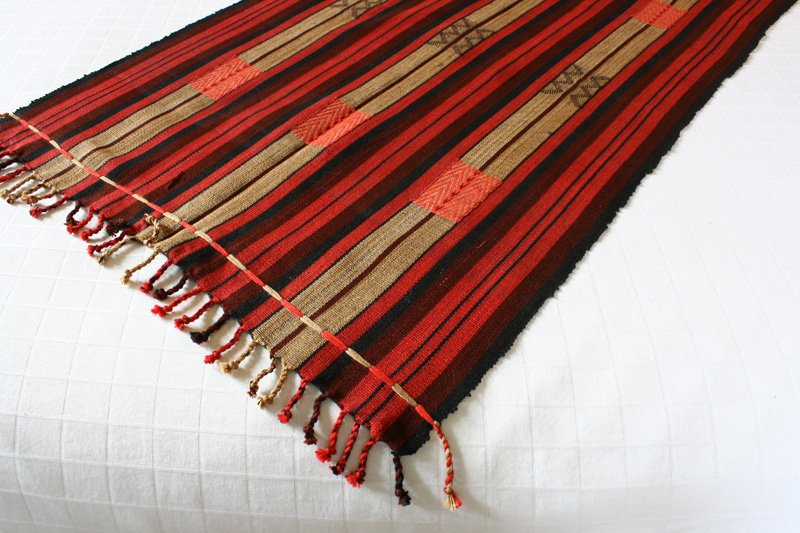 Naga textile runner from Nagaland TTN49M4