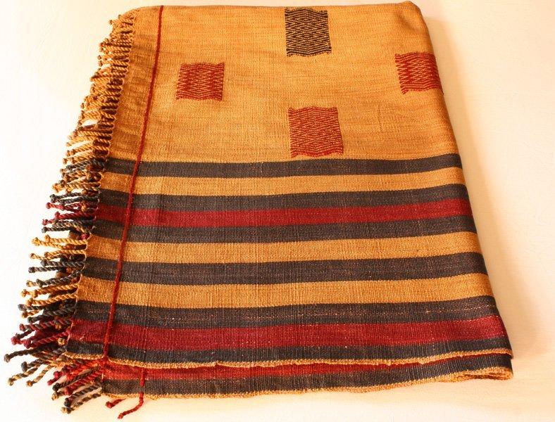 Tribal Naga Shawl Warrior Blanket TTN77M4