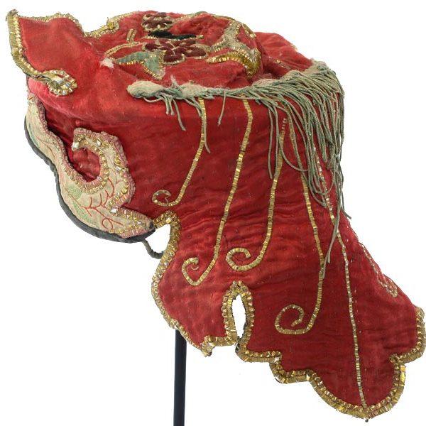 antique Yao hat