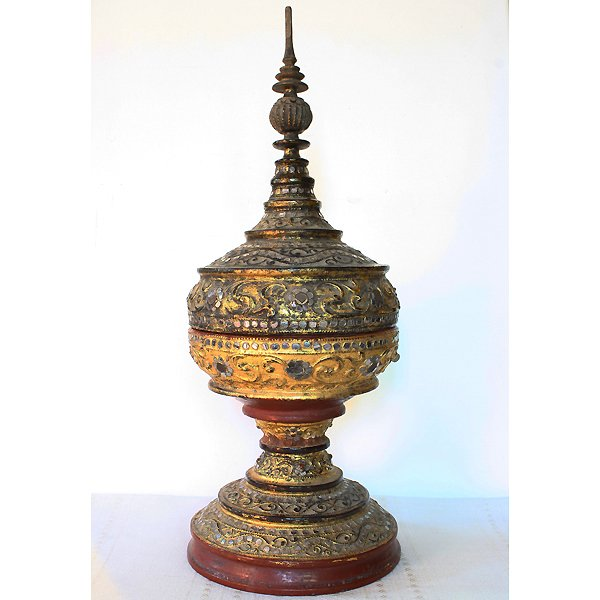 antique burmese gilded hsun-ok