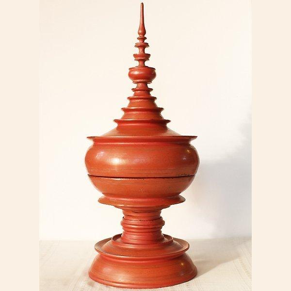 antique lacquerware hsun ok from Burma