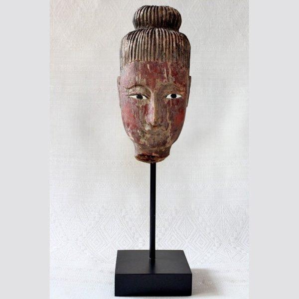 Antique Nat Spirit Wood Carving Burma