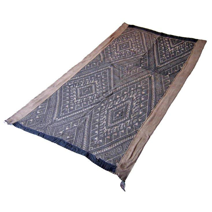 Antique Tribal Tai-Dum Textile