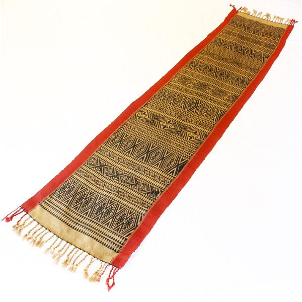 Tribal textile from the Chin of Burma