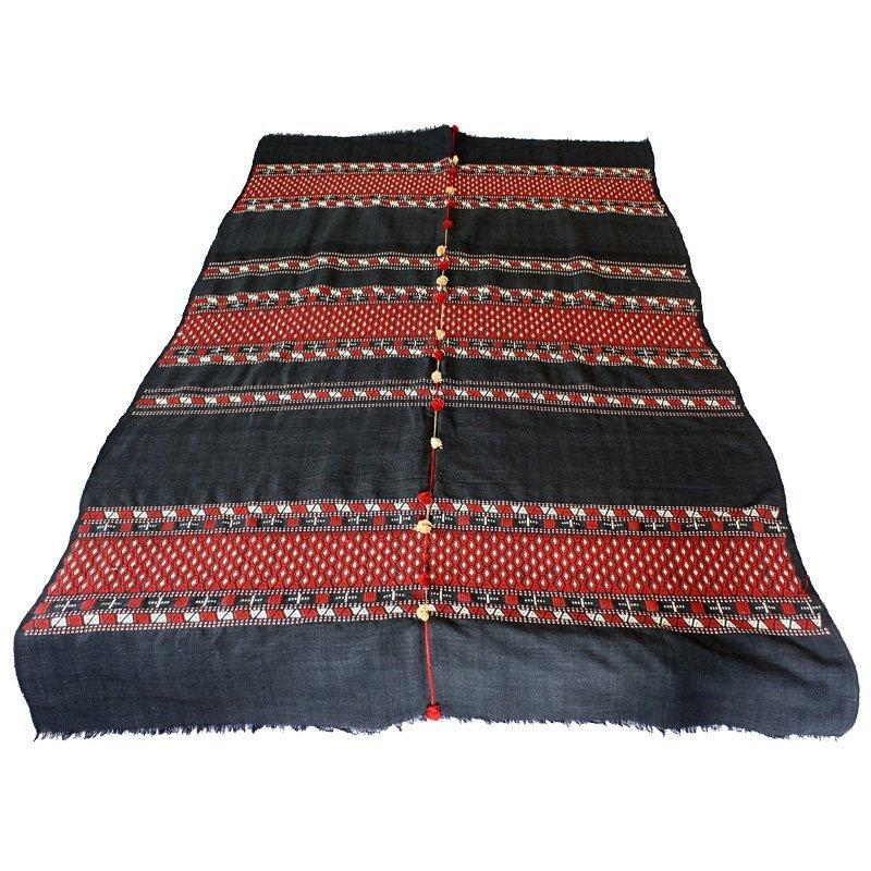 Rare Naga Blanket Tribal Textile
