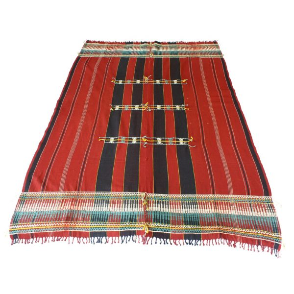 Naga shawl tribal textile from Nagaland