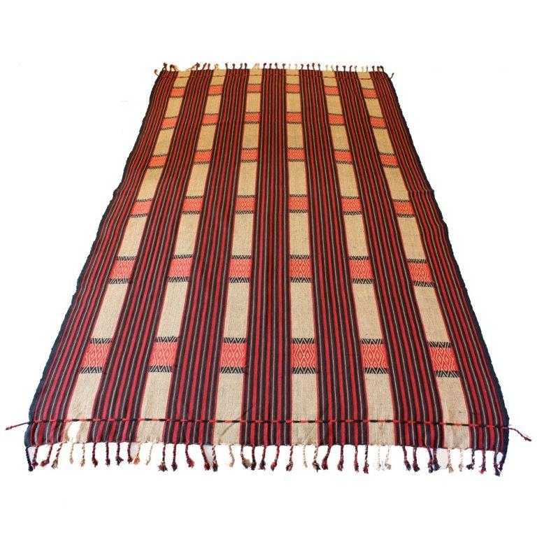 Tribal Naga Shawl Warrior Blanket