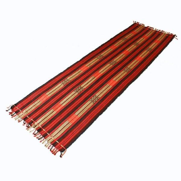 Naga tribal textile runner