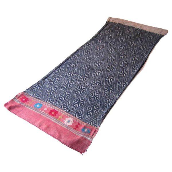 vintage hill tribe textile