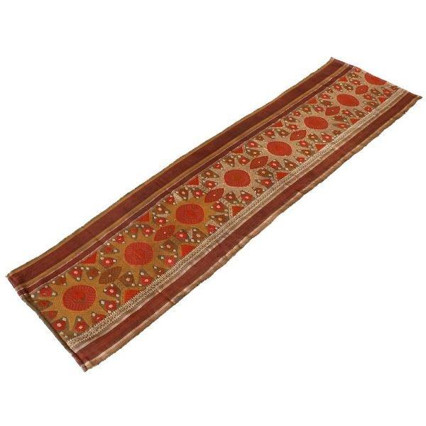 antique silk textile from Laos