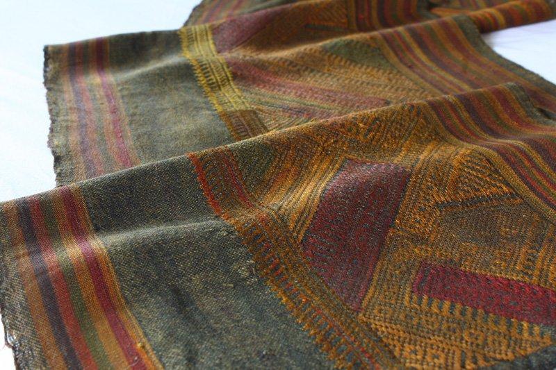 antique silk textile tin-sin Laos